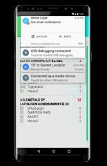 ERP smartphone tcos notificaciones